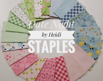 Date Night Fat Quarter Bundle by Heidi Staples - 24 Fat Quarters - (FQ-7220-24)