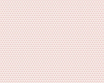 Edie Jane - Triangle - Pink (C8183 PINK) by Deena Rutter for Riley Blake Designs - Girl Fabric  - Cotton Quilting Fabric