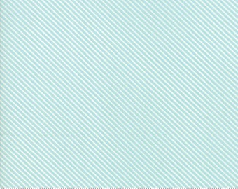 Garden Variety (5075 13)  Blue Sky Candy Stripe by Lella Boutique