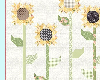 Scappy Sunflowers Pattern by Lella Boutique