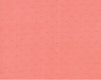 Sugarcreek Silky Woven Rosy Dot by Corey Yoder (Little Miss Shabby) for Moda (12230 16) - Cut Options Available