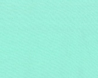 Aqua (9900 34) - Bella Solids fabric Moda Basics
