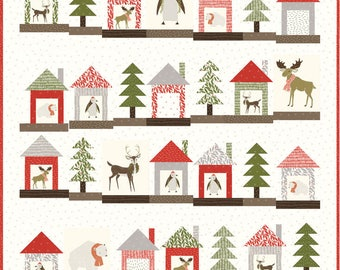 Gingiber Merrily Christmas Quilt Pattern (PS48210)