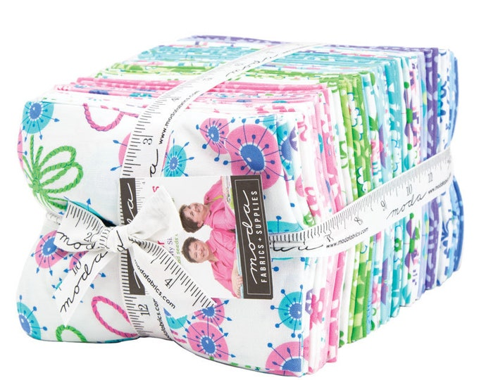 Flower Sacks Fat Quarter Bundle by Me and My Sister -  (35 FQ's) (22350AB)