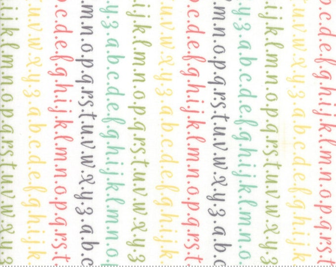 Strawberry Jam Multi Alphabet by Corey Yoder (Little Miss Shabby) for Moda (29065 11)