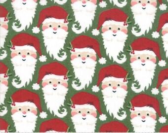 Kringle Claus - Kringle - Holly - (30592 14) - BasicGrey Kringle Claus for Moda Fabrics -  Cotton Quilting Fabric - Kringle Klaus