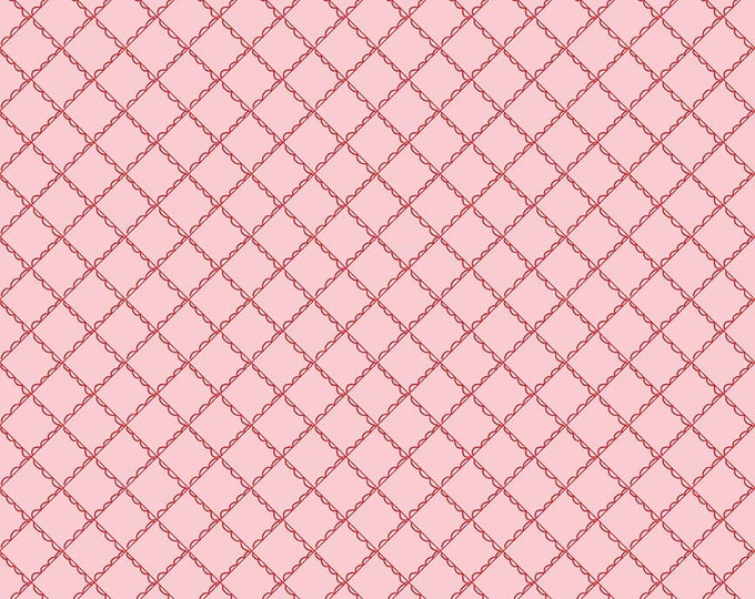 Simple Goodness Pink Ruffled Plaid by Tasha Noel  (C7935-PINK)