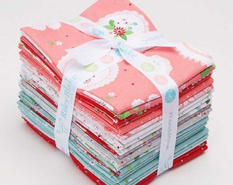 Vintage Keepsakes Fat Quarter Bundle by Beverly McCullough of Flamingo Toes for Riley Blake Designs