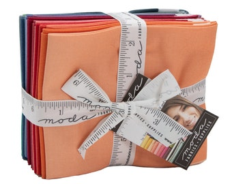 Ombre New Colors Fat Quarter Bundle by V and Co for Moda Fabrics (10800ABN) - 12 Fat Quarters