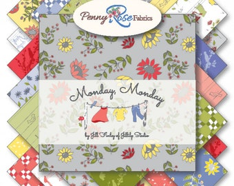 Monday, Monday by Jill Finley Fat Quarter Bundle (FQ-7110-21)
