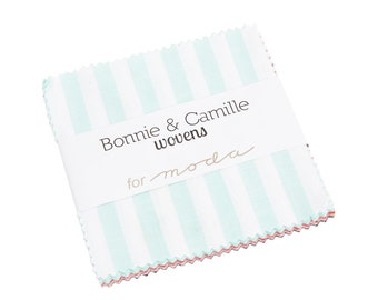 Bonnie & Camille Wovens - Charm Pack (12405PP) - Wovens by Bonnie and Camille  for Moda Fabrics