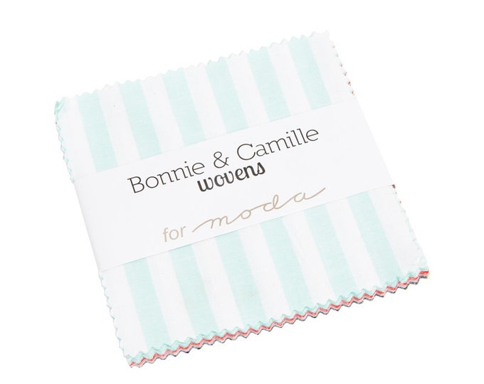 Charm Pack of Wovens by Bonnie & Camille (12405PP)  for Moda Fabric