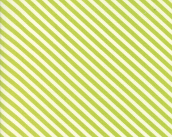Handmade (55145 14) Green Candy Stripe Bonnie & Camille
