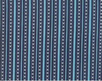 Walkabout Night Sky Pathway (37566-18) by Sherri and Chelsi for Moda Fabrics