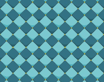 Dragons Checkered Blue (C7665-BLUE) by Ben Byrd from Dragons for Riley Blake Designs