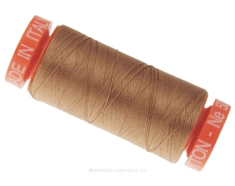 MK50 2340 - Aurifil Cafe' au Lait Cotton Thread- Quilting / Sewing Thread - Aurifil Thread