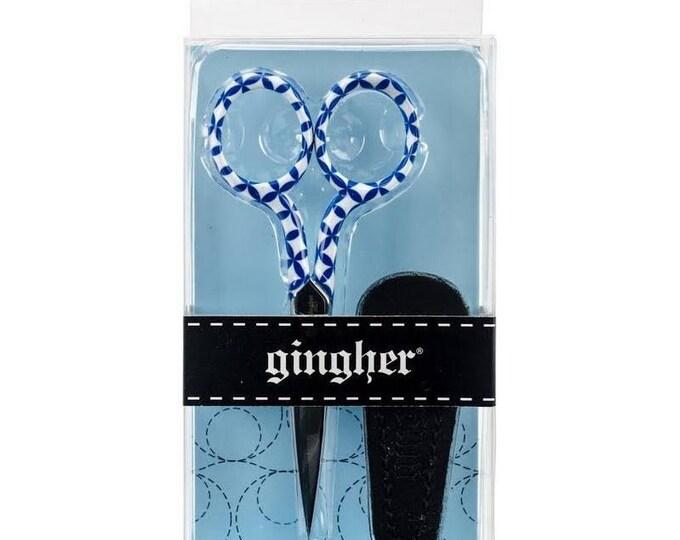 """Gingher Series Lauren 4"""" Embroidery Scissor"""