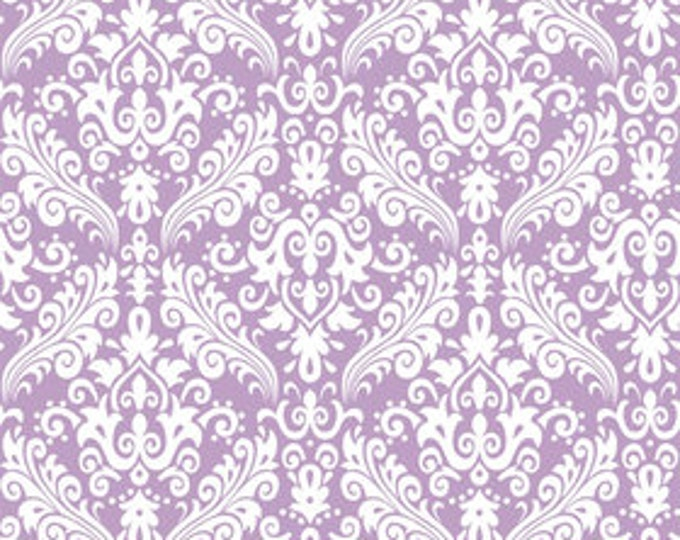 RBD, Medium Damask White on Lavender (C830 120)