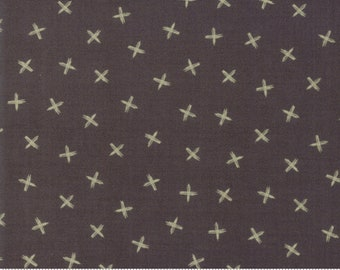 Safari Life Black Dash Dash by Stacy Iest Hsu for Moda Fabrics  (20649 15) - Cut Options Available