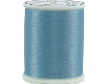 633 Light Turquoise - Bottom Line 1,420 yd spool by Superior Threads