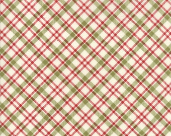 Overnight Delivery (5708 11) Red Green Plaid by Sweetwater