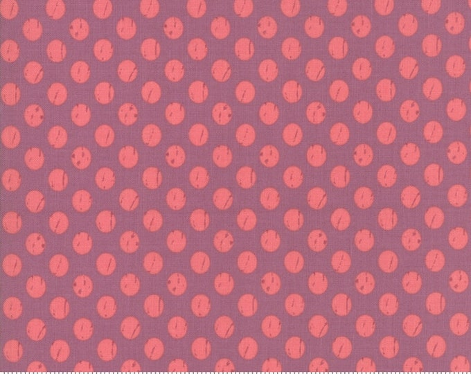 Lollipop Garden Whitewashed Dots - Orchid - Lollipop Garden by Lella Boutique - (5085 14)