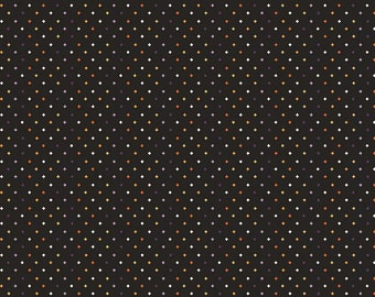 Fab-Boo-Lous Diamonds - Black (C8176 BLACK) Fab-boo-lous by Dani Mogstad for Riley Blake Designs - Halloween Quilting Fabric