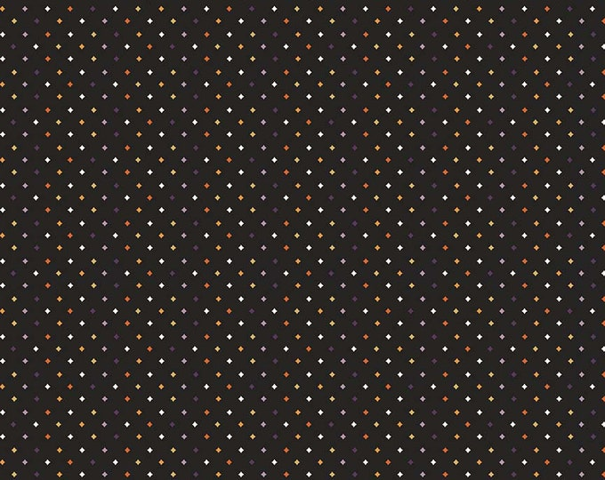 Fab-Boo-Lous Diamonds - Black (C8176 BLACK) Fab-boo-lous by Dani Mogstad for Riley Blake Designs