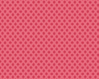 Granny Chic Pink Needlepoint by Lori Holt (Bee in My Bonnet) (C8522 PINK) - Riley Blake Designs - Lori Holt Granny Chic
