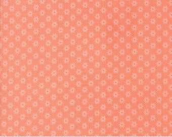 Sunnyside Up Sunshine Coral (Peach) by Corey Yoder (Little Miss Shabby) for Moda (29057 25)