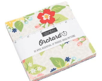 Orchard by April Rosenthal Charm Pack - (24070PP) - April Rosenthal Orchard for Moda Fabrics