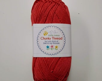 Lori Holt - 50 g Skein Chunky Thread  - Cayenne