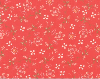 Harper's Garden Geranium Vintage by Sherri and Chelsi for Moda Fabrics (37571 15) Cut Options Available