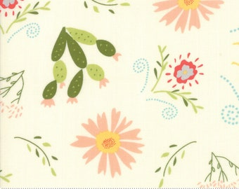 Walkabout Ivory Desert Garden (37560 11) by Sherri and Chelsi for Moda Fabrics