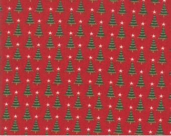 Kringle Claus - Pine Valley - Berry - (30596 13) - BasicGrey Kringle Claus for Moda Fabrics - Cotton Quilting Fabric - Kringle Klaus