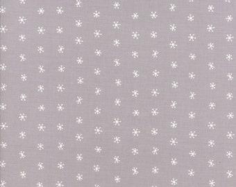Gingiber Merriment Snowflakes - Chill (48275 14) for Moda Fabrics