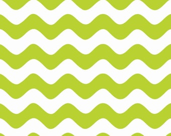 Clearance SALE!!!  RBD, Wave in Lime (C415-32)