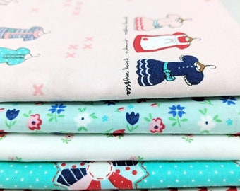 A Little Sweetness by Tasha Noel 1/2 yd bundle - 5 half yd cuts