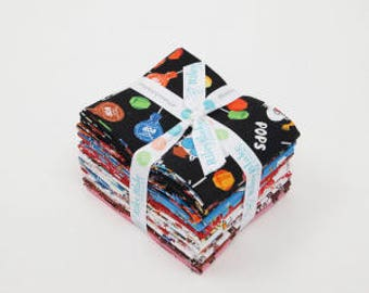 It's Tootsie Roll Time Fat Quarter Bundle (FQ-6810-18) SALE - Tootsie Roll Fabric - FQ Bundle