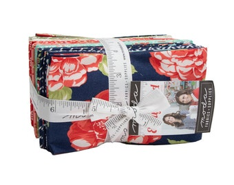 Early Bird Fat Eighth Bundle by Bonnie and Camille (55190F8) for Moda - Quilting Cotton Fabric