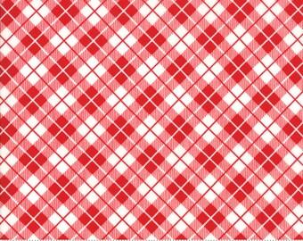 Orchard Picnic Basket - Cherry - April Rosenthal Orchard for Moda Fabrics (24075 11)