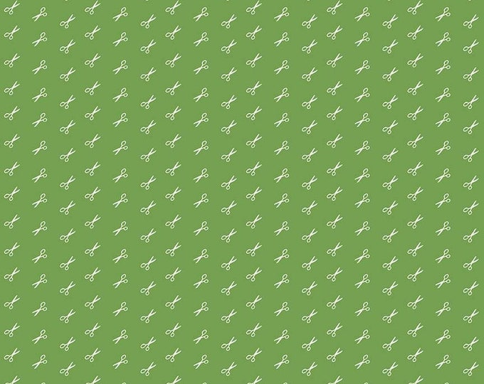 Bee Basics By Lori Holt Scissor Green (C6408-Green)