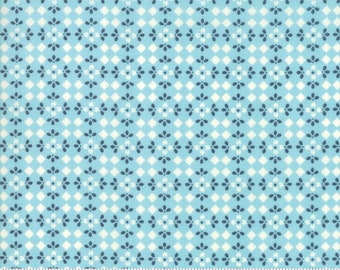 Harper's Garden Aqua Mosaic by Sherri and Chelsi for Moda Fabrics (37575 16) Cut Options Available