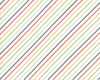 Early Bird Multi Stripe by Bonnie & Camille for Moda Fabrics (55196 17) - Cut Options Available