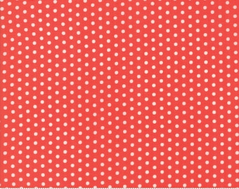 Farmhouse II (20322 11) Tomato Polka Dotties by Fig Tree & Co.
