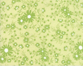 Sunnyside Up Meadow Pistachio (Light Green) by Corey Yoder (Little Miss Shabby) for Moda (29054 23)