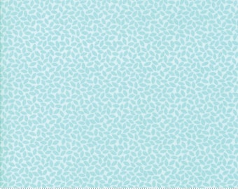 Orchard Leaves - Sky Blue - April Rosenthal Orchard for Moda Fabrics (24076 16)