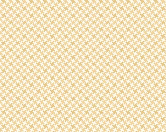 Farm Girl Vintage Houndstooth Honey by Lori Holt (Bee in My Bonnet) (C7882-HONEY)
