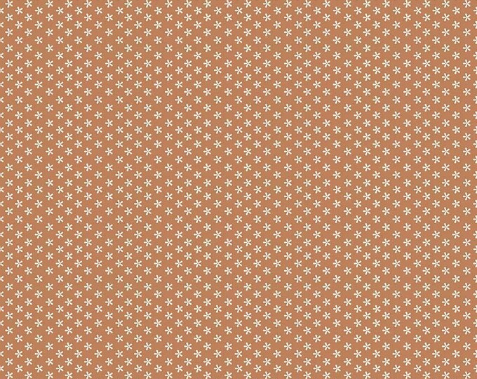 Bee Basics By Lori Holt Tiny Daisy Cinnamon (C6403-Cinnamon)