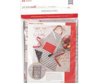 Apron and Tea Towel Cut, Sew, Create Panel by Stacy Iest Hsu - Perfect Sewing Projects for Beginners! - Moda Fabrics  - PREORDER